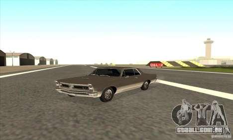 Pontiac GT-100 para GTA San Andreas