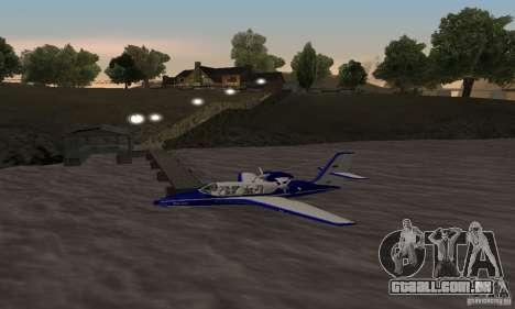 Beriev ser-103 para GTA San Andreas esquerda vista