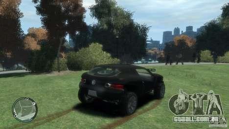 Volkswagen Concept para GTA 4 traseira esquerda vista