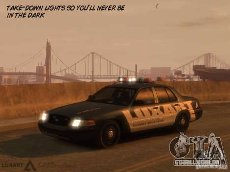 EMERGENCY LIGHTING SYSTEM V6 para GTA 4 terceira tela