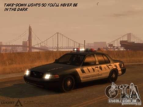 EMERGENCY LIGHTING SYSTEM V6 para GTA 4 terceira tela
