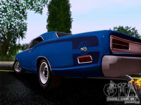 Dodge Coronet Super Bee v2 para GTA San Andreas vista direita