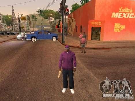 Ballas 4 Life para GTA San Andreas décimo tela