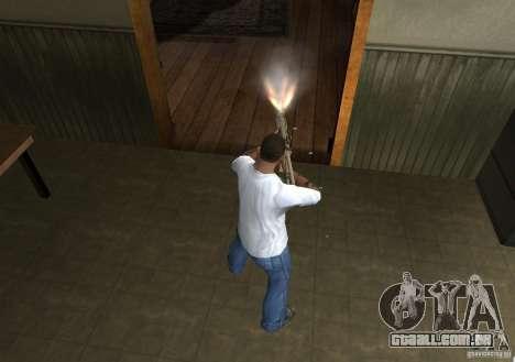 KAC PDW para GTA San Andreas quinto tela