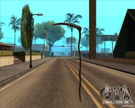 Morte para GTA San Andreas sexta tela