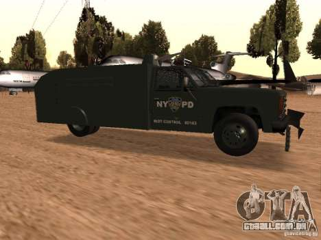 GMC SIERRA 3500 para GTA San Andreas vista direita