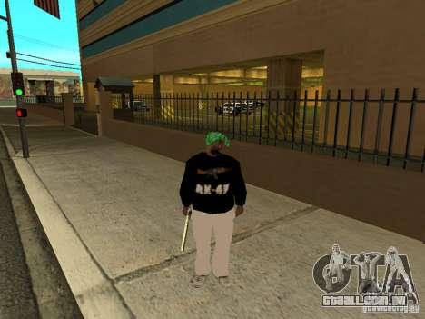 Novo Groove grosso para GTA San Andreas por diante tela