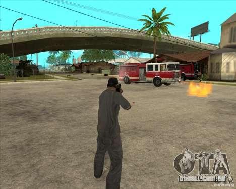Gta IV weapon anims para GTA San Andreas quinto tela