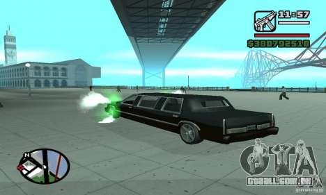 Expurgo como no NFS para GTA San Andreas segunda tela