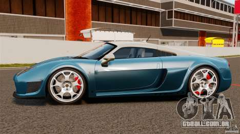 Noble M600 Bicolore 2010 para GTA 4 esquerda vista