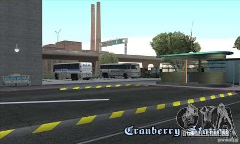 BUSmod para GTA San Andreas por diante tela