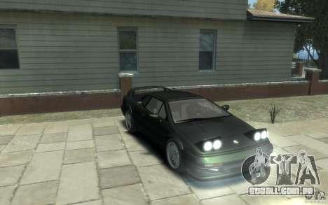 Lotus Esprit V8 para GTA 4 vista de volta