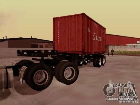 Container para GTA San Andreas esquerda vista