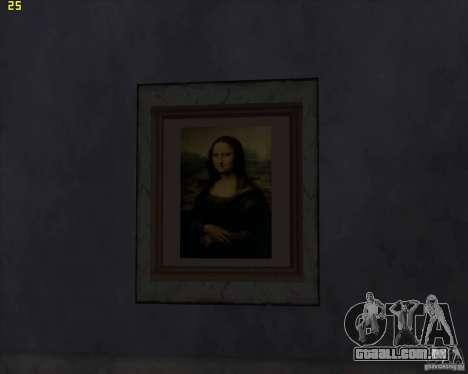 Pinturas da casa CJ para GTA San Andreas