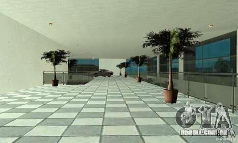 Mercedes Showroom v. 1.0 (Autocentre) para GTA San Andreas quinto tela