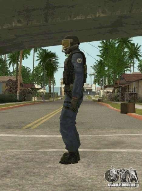 Counter-terrorist para GTA San Andreas segunda tela