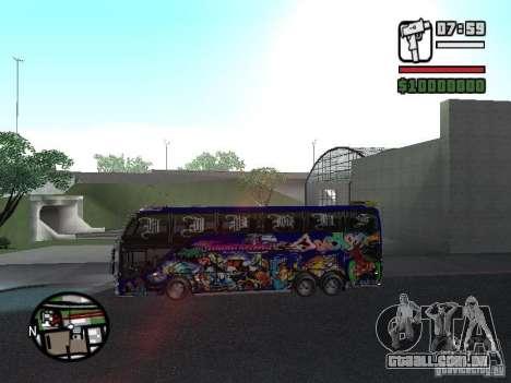 Neoplan para GTA San Andreas traseira esquerda vista