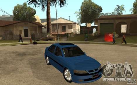 Opel Vectra CD 1997 para GTA San Andreas vista traseira