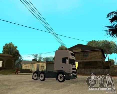 Scania 164L 580 para GTA San Andreas vista direita