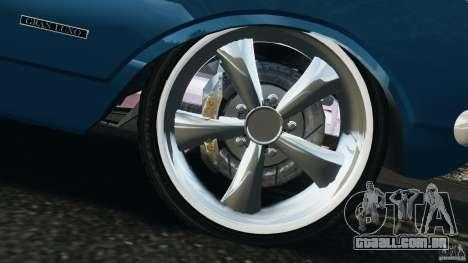Chevrolet Opala Gran Luxo para GTA 4 vista inferior