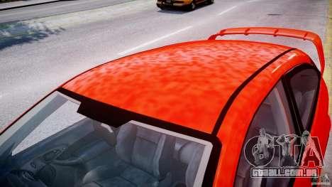 Ford Focus SVT WRC Street para GTA 4 vista inferior
