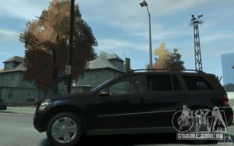 Mercedes-Benz GL450 para GTA 4 esquerda vista