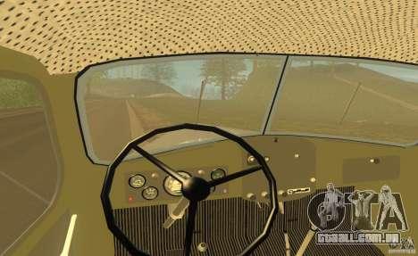 ZIL 164 trator para vista lateral GTA San Andreas