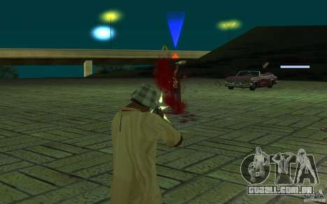 Mutant para GTA San Andreas por diante tela