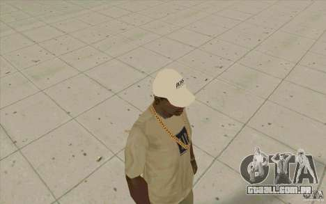 Chefe branco Cap para GTA San Andreas segunda tela