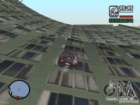 Viagens sobre o oceano (versão Beta) para GTA San Andreas quinto tela