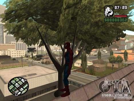 Spider Man From Movie para GTA San Andreas oitavo tela