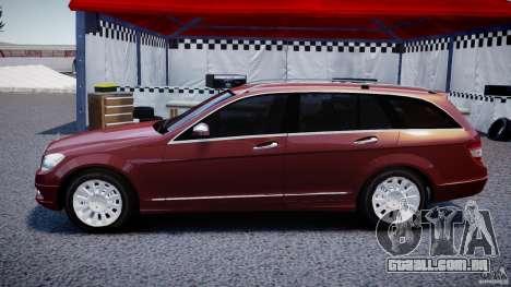 Mercedes-Benz C 280 T-Modell/Estate para GTA 4 esquerda vista