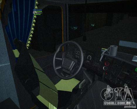 Scania 164L para GTA San Andreas vista direita