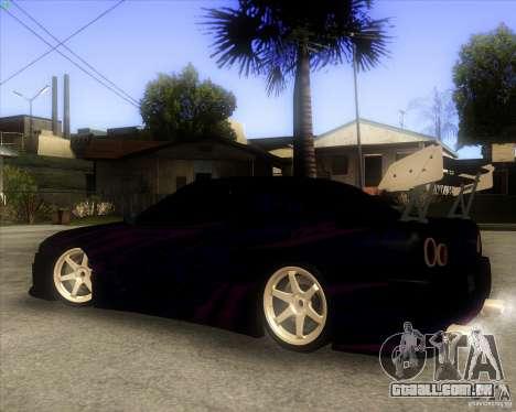 Elegy 0.2 para GTA San Andreas vista interior