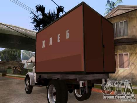 GAZ 51 pão para GTA San Andreas traseira esquerda vista