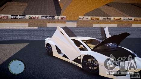 Lamborghini Aventador LP 700-4 para GTA 4 vista lateral