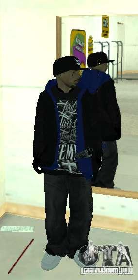 Vagos Gang Skins para GTA San Andreas nono tela