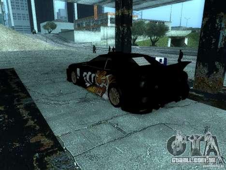 Vinil grande Lou de Most Wanted para GTA San Andreas vista direita