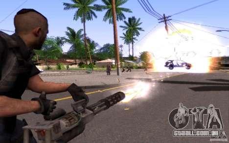 4 um Mctavish (Brasil) para GTA San Andreas por diante tela