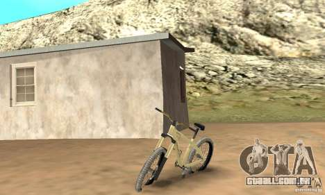 Specialized P.3 Mountain Bike v 0.8 para GTA San Andreas