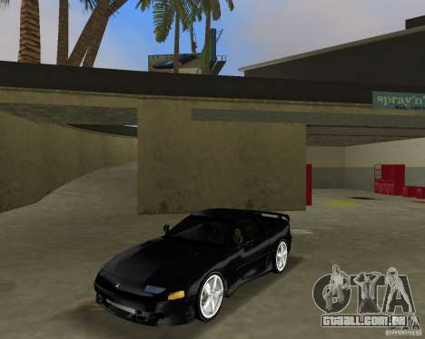 Mitsubishi 3000 GT 1993 para GTA Vice City vista traseira