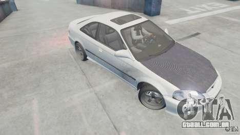 Honda Civic Si 1999 JDM [EPM] para GTA 4 traseira esquerda vista