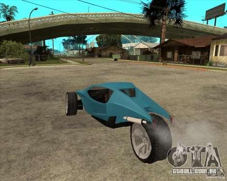 AP3 cobra para GTA San Andreas esquerda vista