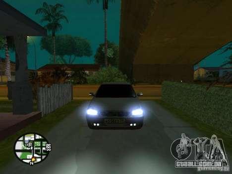LADA Priora 2172 para GTA San Andreas interior