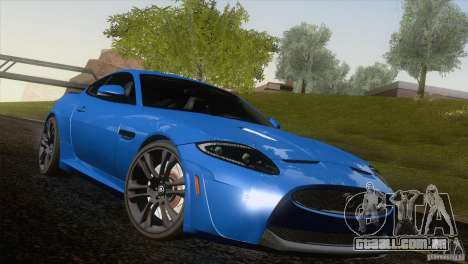 Jaguar XKR-S 2011 V1.0 para o motor de GTA San Andreas