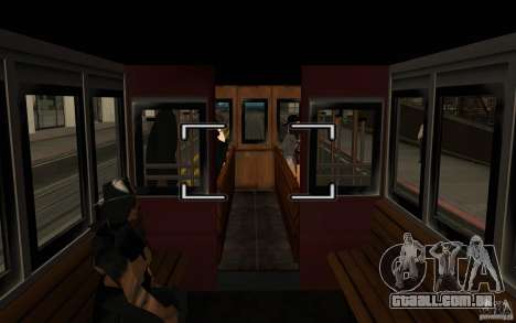 Enterable Tram v1.2 para GTA San Andreas
