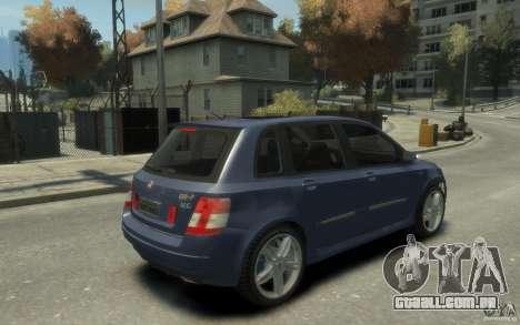 Fiat Stilo Sporting 2009 para GTA 4 vista direita