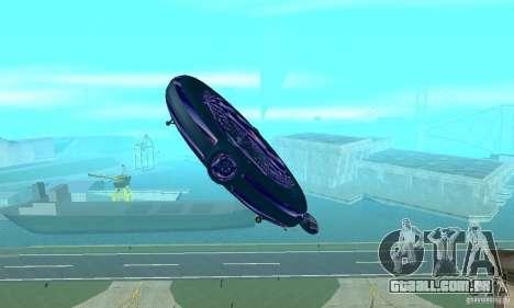 Chuckup para GTA San Andreas vista superior