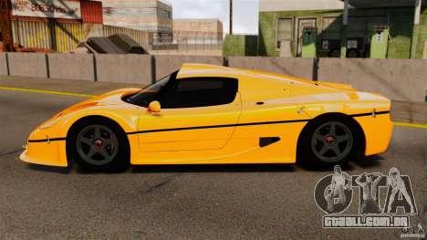 Ferrari F50 GT 1996 para GTA 4 esquerda vista