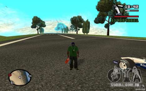 High-speed line para GTA San Andreas segunda tela